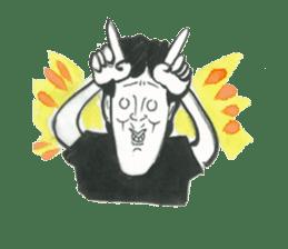 nagareboshi  Japanese famous Comedians sticker #845983
