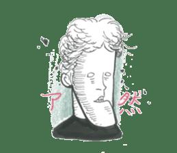nagareboshi  Japanese famous Comedians sticker #845994