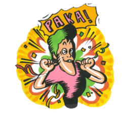 nagareboshi  Japanese famous Comedians sticker #845998