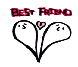 Marshmallow Ghost Matthew sticker #847600