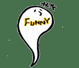 Marshmallow Ghost Matthew sticker #847602