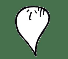 Marshmallow Ghost Matthew sticker #847611