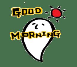Marshmallow Ghost Matthew sticker #847612
