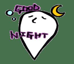 Marshmallow Ghost Matthew sticker #847613