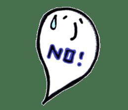 Marshmallow Ghost Matthew sticker #847615