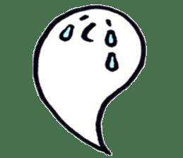 Marshmallow Ghost Matthew sticker #847627