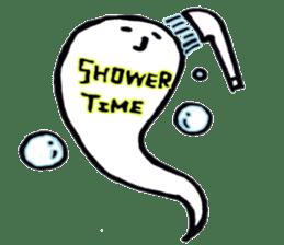 Marshmallow Ghost Matthew sticker #847628