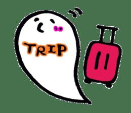 Marshmallow Ghost Matthew sticker #847629