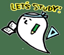 Marshmallow Ghost Matthew sticker #847631