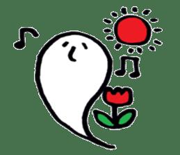 Marshmallow Ghost Matthew sticker #847633