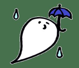 Marshmallow Ghost Matthew sticker #847634