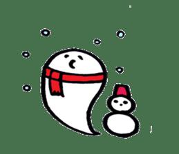 Marshmallow Ghost Matthew sticker #847635