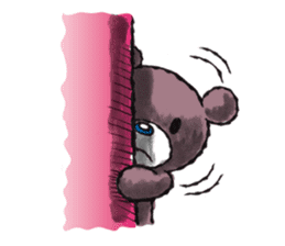 Baby Knuckle Bear Sticker sticker #848079
