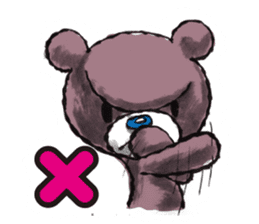 Baby Knuckle Bear Sticker sticker #848084