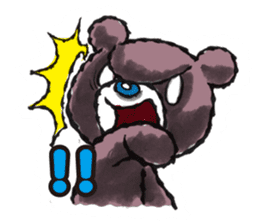 Baby Knuckle Bear Sticker sticker #848086