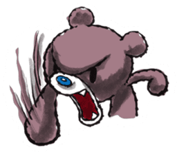 Baby Knuckle Bear Sticker sticker #848103