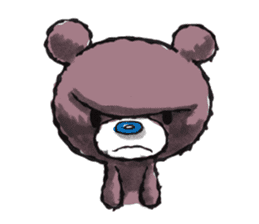 Baby Knuckle Bear Sticker sticker #848108