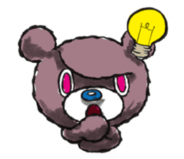 Baby Knuckle Bear Sticker sticker #848113