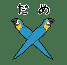 bird is kawaii sticker #848449