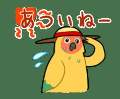 bird is kawaii sticker #848455