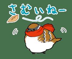 bird is kawaii sticker #848456