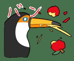 bird is kawaii sticker #848463