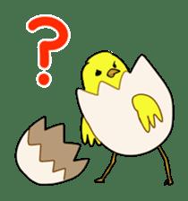 bird is kawaii sticker #848464