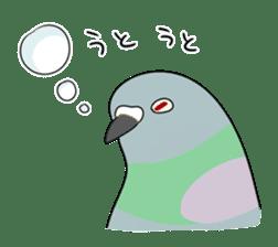 bird is kawaii sticker #848471