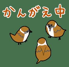 bird is kawaii sticker #848477