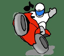 Motorbike lover ! sticker #848570