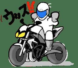 Motorbike lover ! sticker #848589