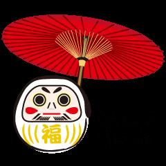 DARUMA doll JAPAN -English Ver.-