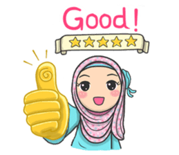 Flower Hijab 2 sticker #849734