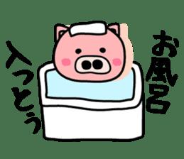 Pig of the words of Kobe sticker #851248