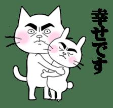 Dandy cat sticker #852245