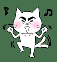 Dandy cat sticker #852261