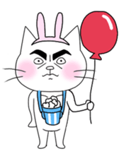 Dandy cat sticker #852266