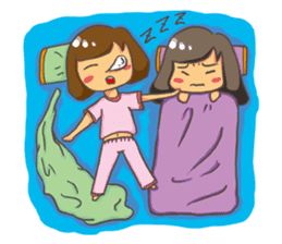 SISTERS' EVERYDAY sticker #852506