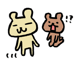 Bear! Bear! Bear! sticker #853231