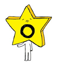 Funny Star sticker #853534