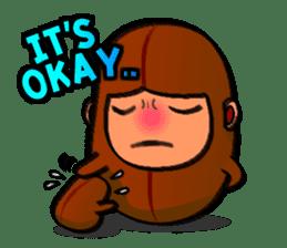 B Boy (Bean Boy) sticker #854579