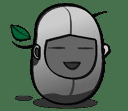 B Boy (Bean Boy) sticker #854582