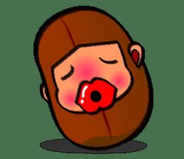 B Boy (Bean Boy) sticker #854585
