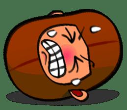 B Boy (Bean Boy) sticker #854586