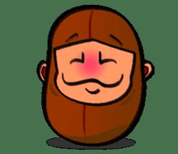 B Boy (Bean Boy) sticker #854596
