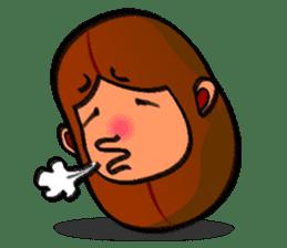 B Boy (Bean Boy) sticker #854597