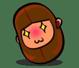 B Boy (Bean Boy) sticker #854598