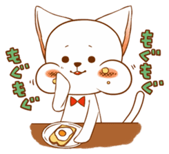 The sticker of a cat sticker #854600