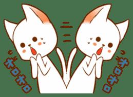 The sticker of a cat sticker #854603