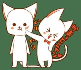 The sticker of a cat sticker #854614
